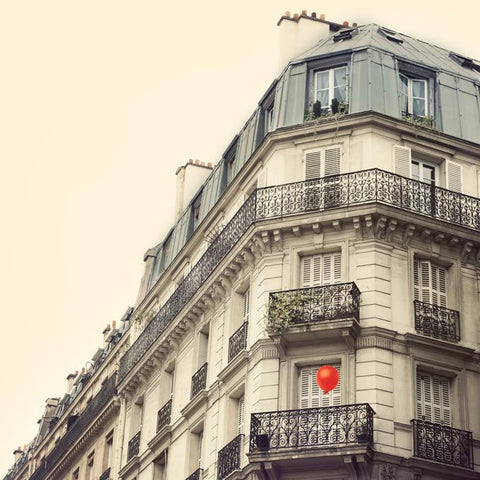The red balloon - Fine art Paris photograph