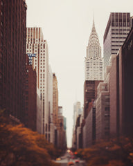 Fall on 42nd Street