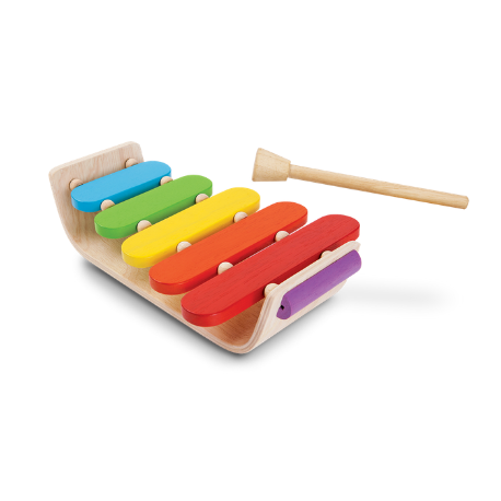 Plan Toys Oval Xylophone - Adams Attic