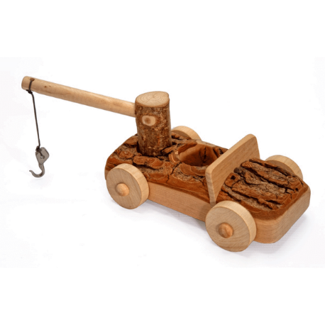 Magic Wood Tree Tow Truck - Adams Attic