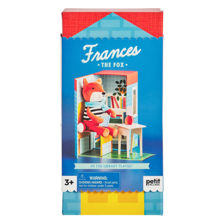 Petit Collage Frances the Fox Playset - Adams Attic
