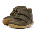 Bobux Step Up Timber Boot Olive - Adams Attic