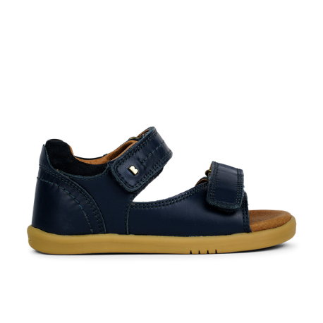 Bobux IWalk Driftwood Sandal Navy - Adams Attic