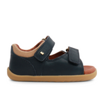 Bobux Step Up Driftwood Open Sandal Navy - Adams Attic