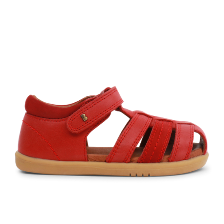 Bobux IWalk Roam Closed Sandal Red - Adams Attic