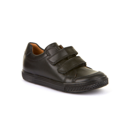 Froddo  Velcro Black Shoe - Adams Attic