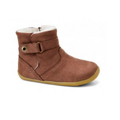 Bobux Step Up Light Brown Storm Boot - Adams Attic