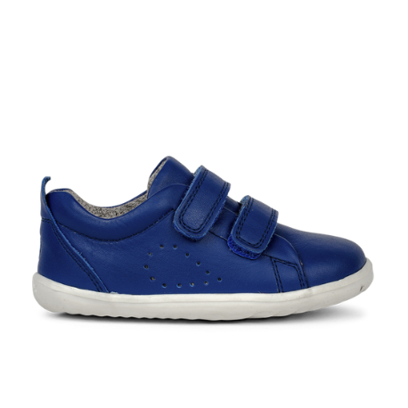 Bobux Step Up Grass Court Trainer Blueberry - Adams Attic