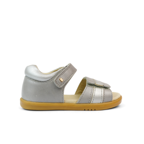 Bobux IWalk Hampton Open Sandal Silver Pearl - Adams Attic