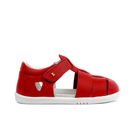 Bobux IWalk Tidal Closed Sandal Rio Red - Adams Attic