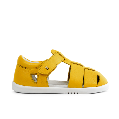 Bobux IWalk Tidal Closed Sandal Yellow - Adams Attic