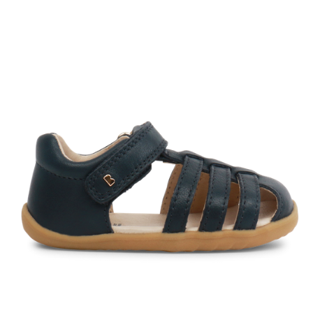 Bobux Step Up Jump Sandal Navy - Adams Attic