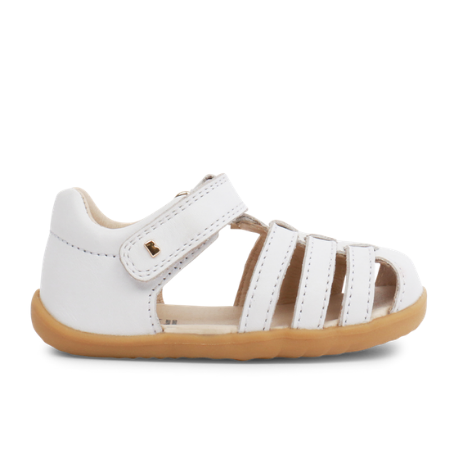 Bobux Step Up Jump Sandal white - Adams Attic