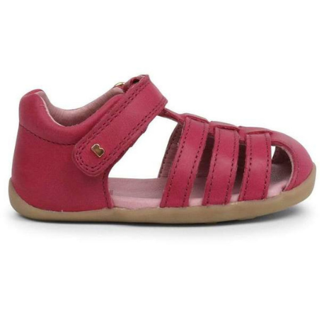 Bobux Step up Jump Sandal Dark Pink - Adams Attic