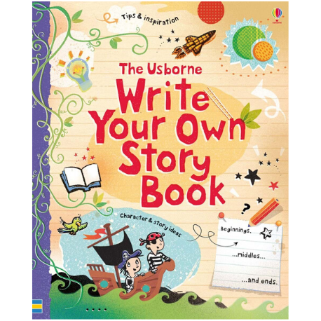 Usborne Write Your Own Story Book - Adams Attic