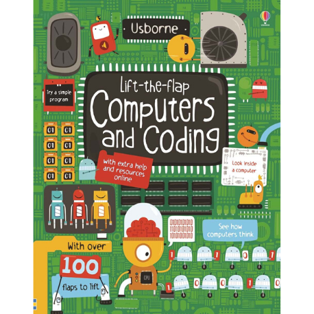 Usborne Lift the Flap Computers and Coding - Adams Attic