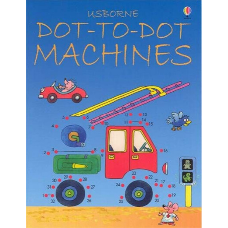 Usborne Dot to Dot Machines - Adams Attic