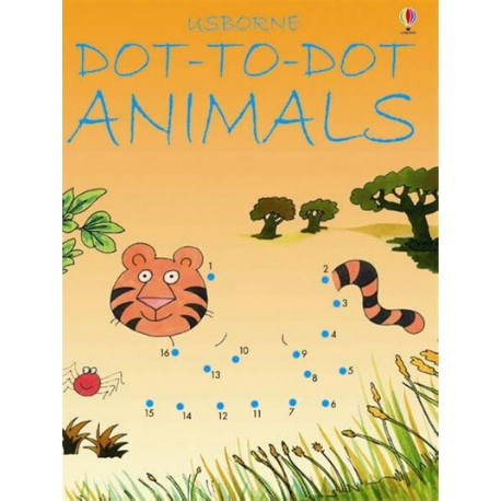 Usborne Dot to Dot Animals - Adams Attic