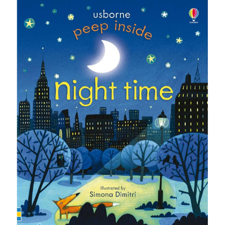Usborne Peep Inside Night-Time - Adams Attic