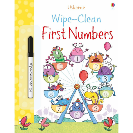 Usborne Wipe Clean First Numbers - Adams Attic