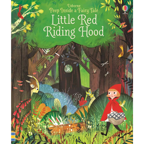 Usborne Peep Inside Fairytale Little Red Riding Hood - Adams Attic