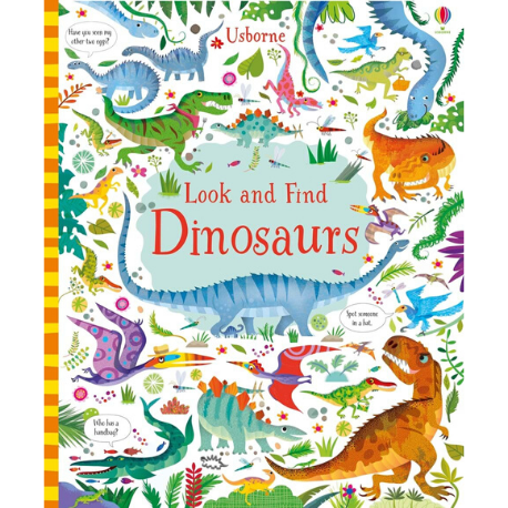 Usborne Look and Find Dinosaurs - Adams Attic