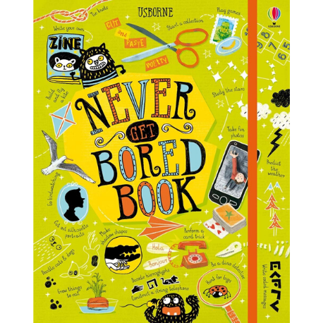 Usborne Never Get Board Book - Adams Attic