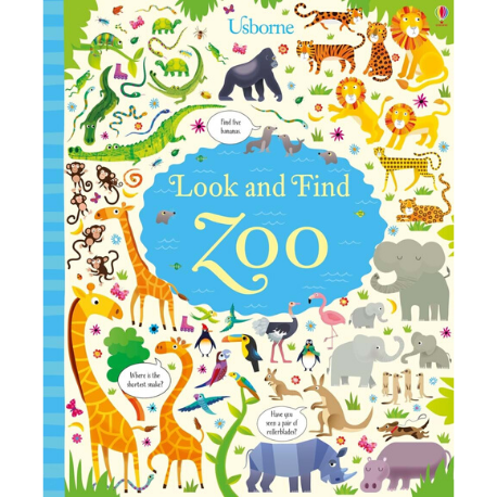 Usborne Look and Find Zoo - Adams Attic