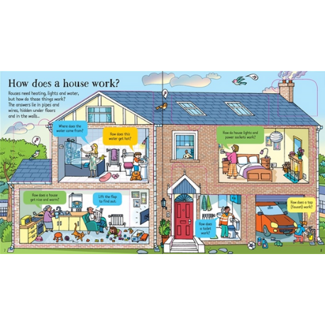 Usborne Look Inside How Things Work - Adams Attic