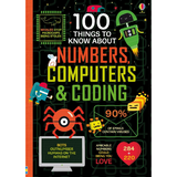 Usborne 100 Things to Know Numbers, Computers & Coding - Adams Attic