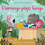 Usborne Flamingo Plays Bingo - Adams Attic
