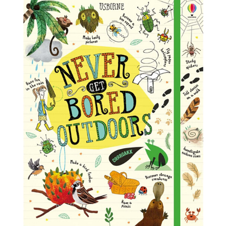 Usborne Never Get Bored Outdoors - Adams Attic