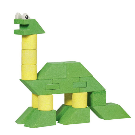 Goki Building set Dinosaur (small) - Adams Attic