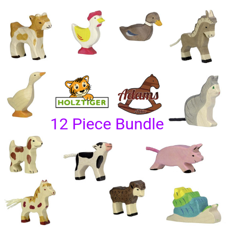 Holztiger Bundle - 12 small pieces - Adams Attic