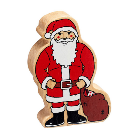 Lanka Kade Natural red and white Father Christmas - Adams Attic