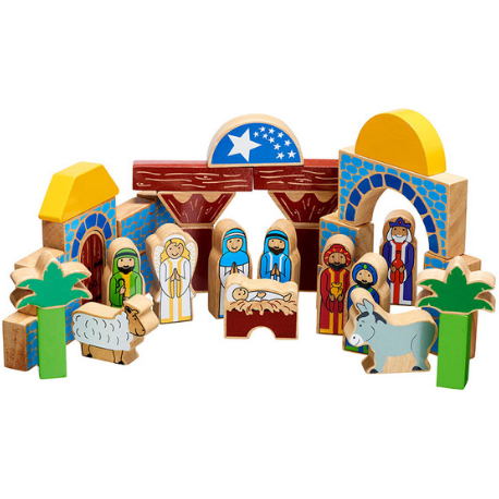 Lanka Kade Nativity Building Blocks - Adams Attic