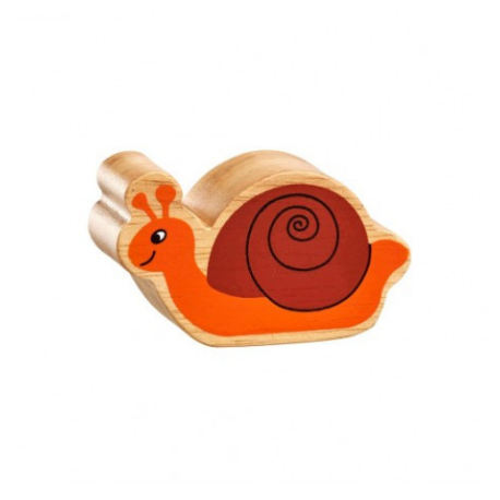 Lanka Kade Natural Brown & Orange Snail - Adams Attic