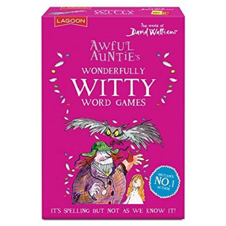 David Walliams Awful Auntie's Wonderfully Witty Word Games - Adams Attic