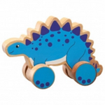 Lanka Kade Stegosaurus Push Along - Adams Attic