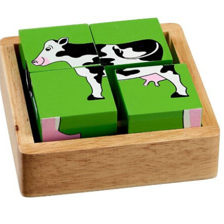 Lanka Kade Farm Animals Block Puzzle - Adams Attic