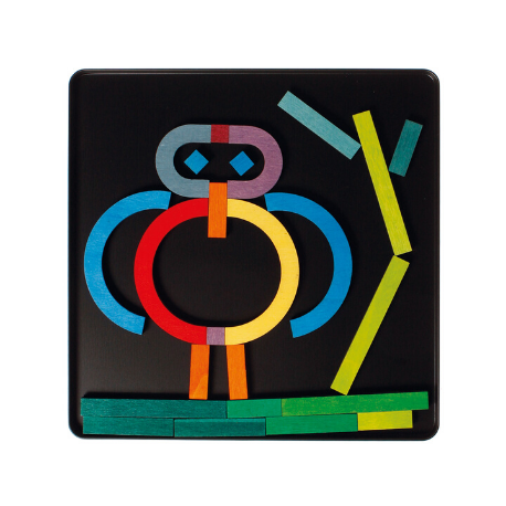 Grimm's Magnetic Puzzle Letter Shapes - Adams Attic