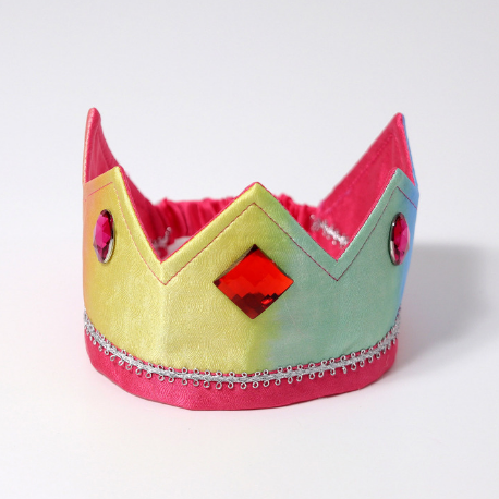 Grimm's Reversible Crown Pink/Rainbow - Adams Attic