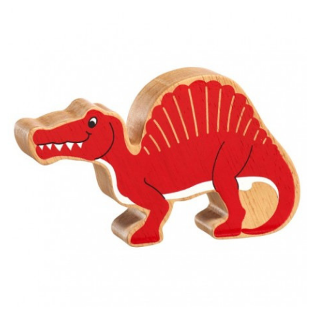 Lanka Kade Natural Red Spinosaurus - Adams Attic