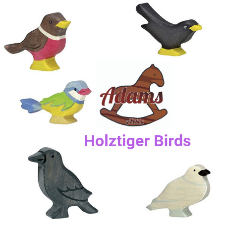 Holztiger Bird Set - Adams Attic