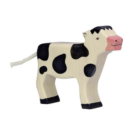Holztiger Calf Standing Black - Adams Attic