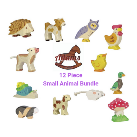 Holztiger Bundle - 12 Small Animals - Adams Attic