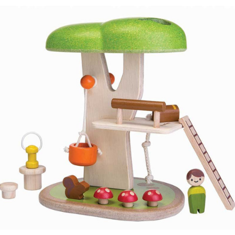 Plan Toys Tree House - Adams Attic