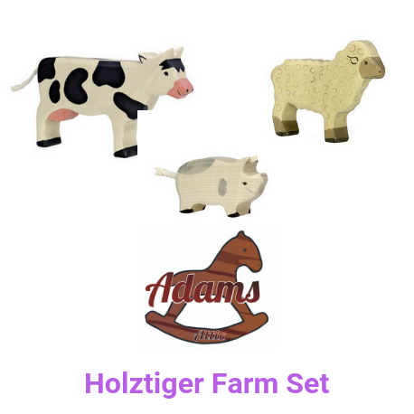 Holztiger Farm Set - Adams Attic