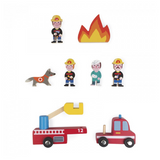Janod Mini Story Firefighters
