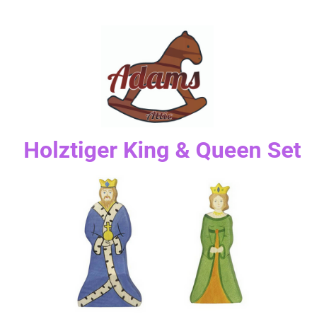 Holztiger King & Queen Set - Adams Attic